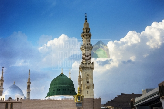 Green Dome of the Holy Mosuqe (10)