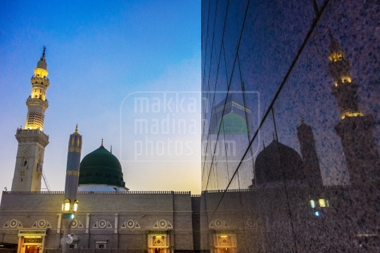 Green Dome, Masjid Nabawi