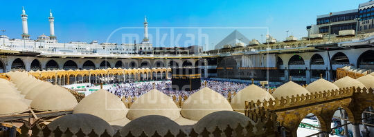 A Panoramic view of the Holy Mosque